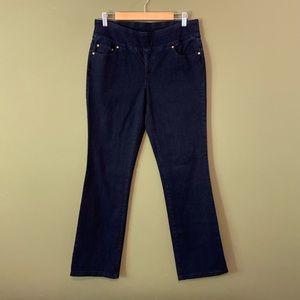 Christopher & Banks pull on denim jeans 8